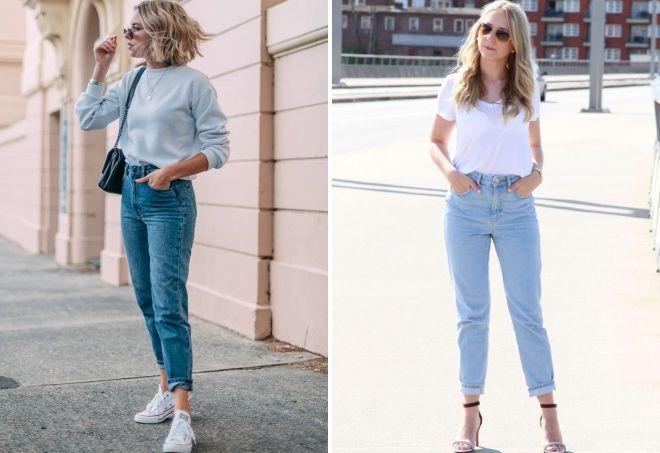как подобрать мом-джинсы