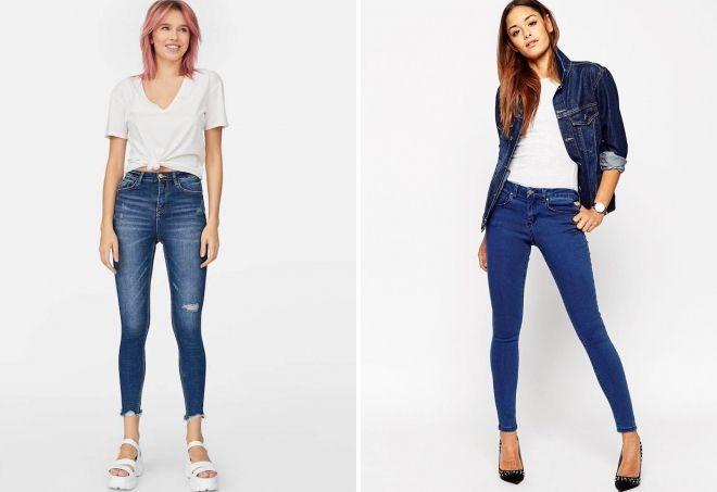 как подобрать джинсы-скинни