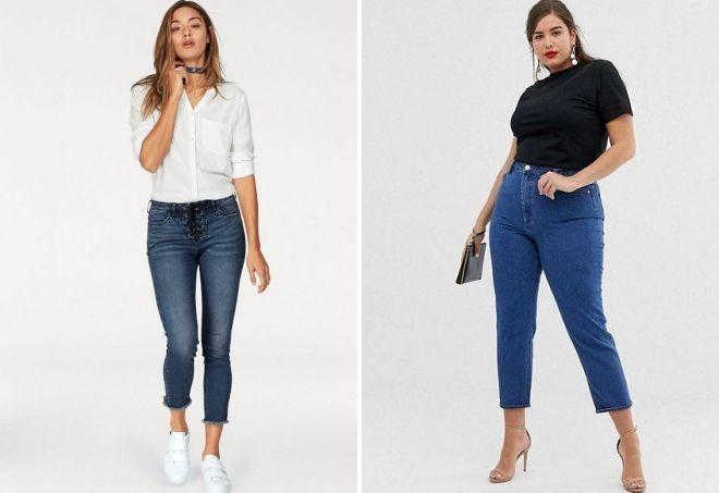 как подобрать джинсы клеш