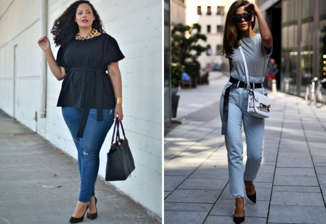 джинсы для типа фигуры груша