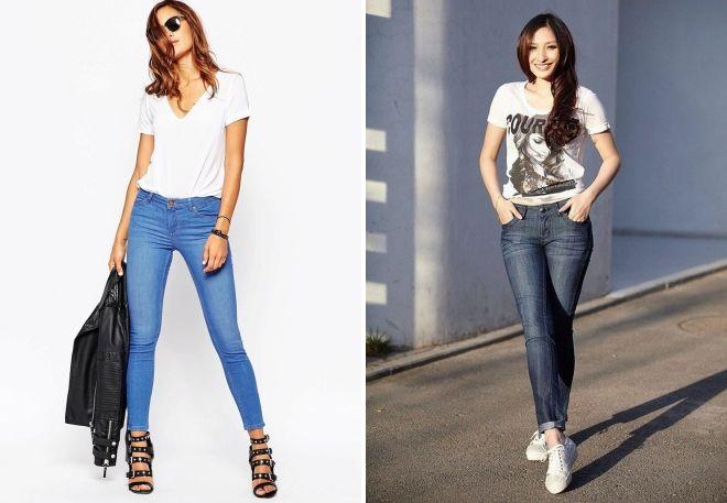 какая обувь носится под джинсы