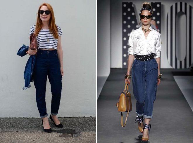 обувь под женские джинсы летом