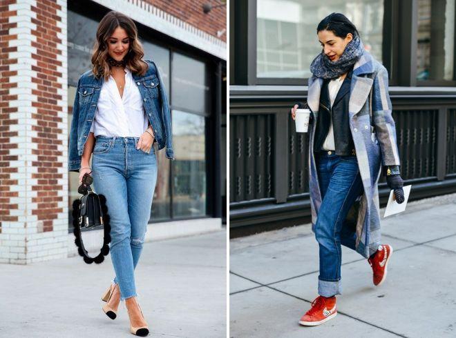 обувь под джинсы 2019