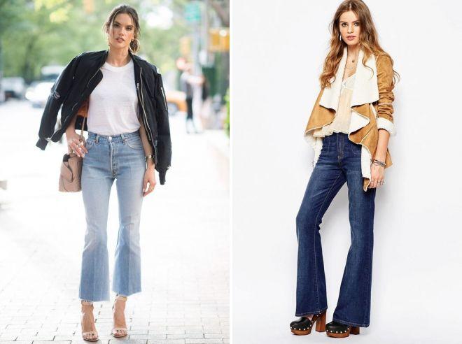 какую обувь носить под джинсы