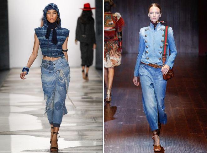 модная обувь под джинсы 2019