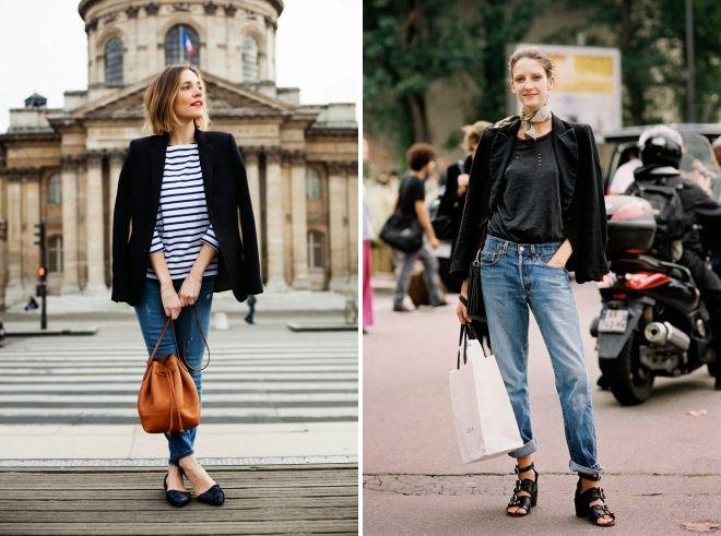 обувь под классические джинсы
