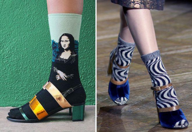 čarape ispod sandala