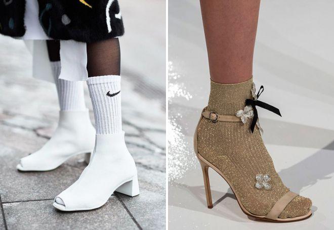 ženske sandale sa čarapama