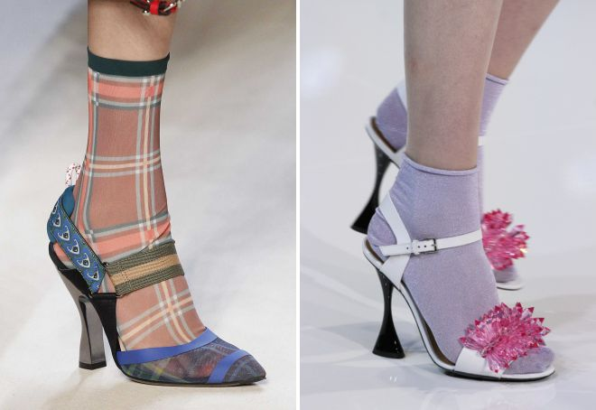 sandale na čarapama trend ove sezone
