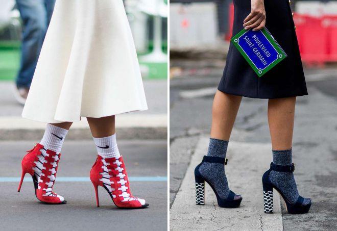 kako nositi čarape sa sandalama