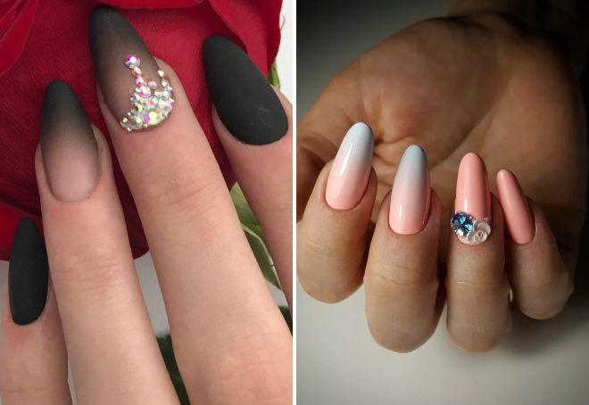Модный дизайн ногтей омбре – на короткие и длинные, омбре ...