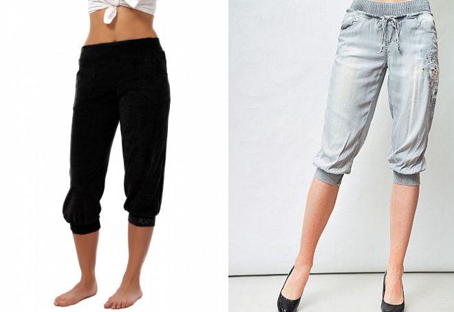 женские бриджи брюки