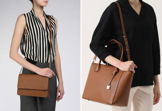 81cd688c8428 Модная женская коричневая сумка – замшевая, кожаная, через плечо ...
