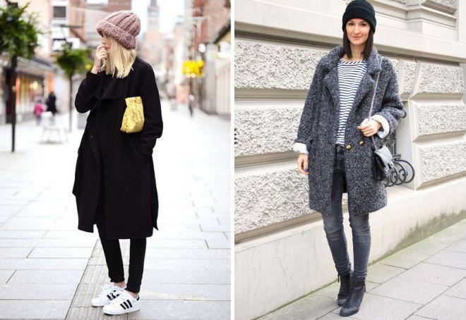 какую шапку носить с пальто оверсайз