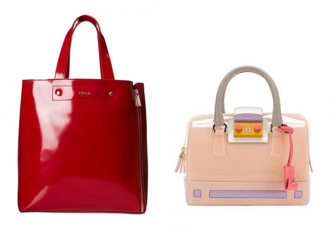 лаковые сумки Фурла