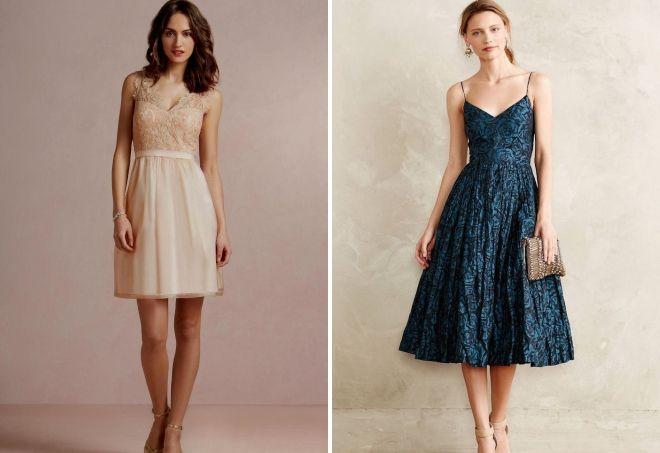 платье на свадьбу в качестве гостя 2018