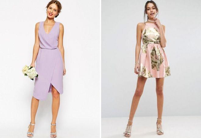 какие платья надевают на свадьбу гости