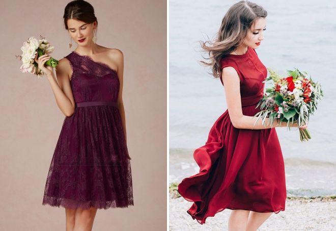 красное платье на свадьбу в качестве гостя