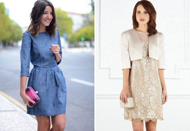 платье на свадьбу в качестве гостя осенью и весной