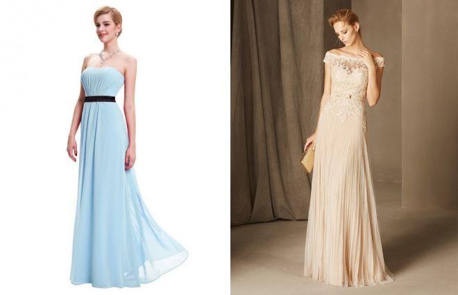 9fcd3c707ad3a0a Модные вечерние платья на свадьбу – осенние, зимние, летние ...