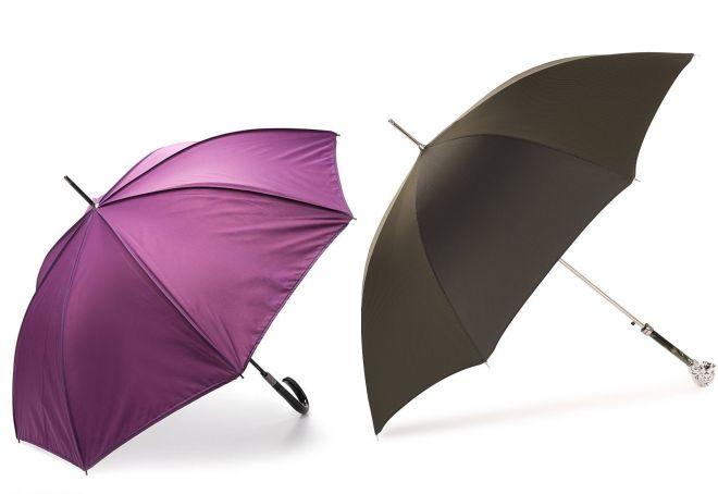зонт трость модные цвета