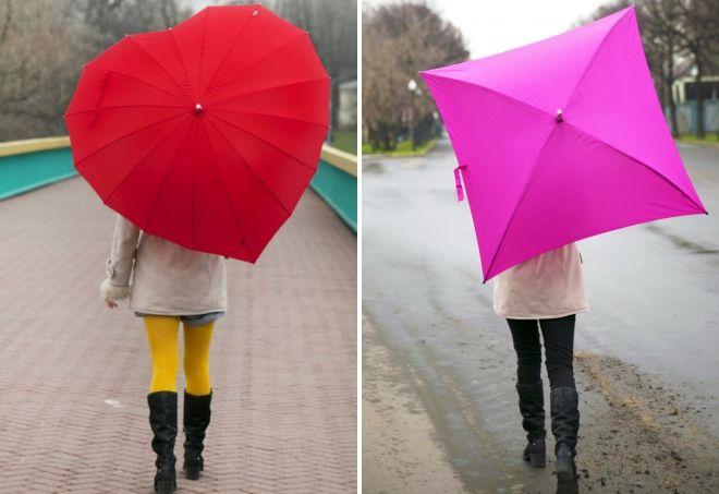 canne de parapluies inhabituel