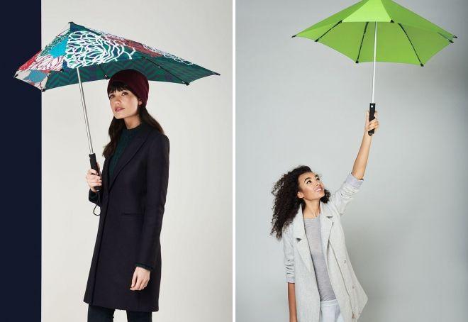 چترهای زنان راه رفتن از باران