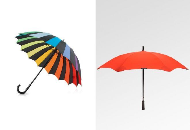 механический зонт трость