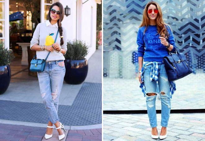 с чем носить джинсовую сумку