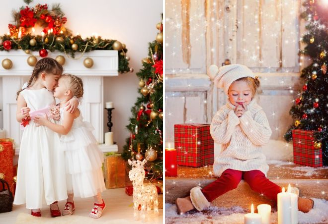 0e1f90698d79c Красивая новогодняя фотосессия в студии – одежда, аксессуары ...