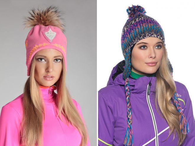 лыжные спортивные шапки