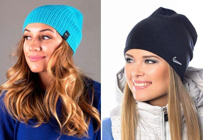 демисезонные спортивные шапки