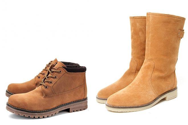 обувь цвета кэмел