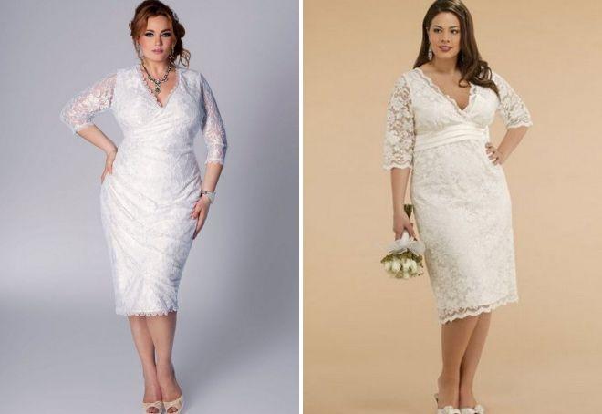 wedding dress sheath for full