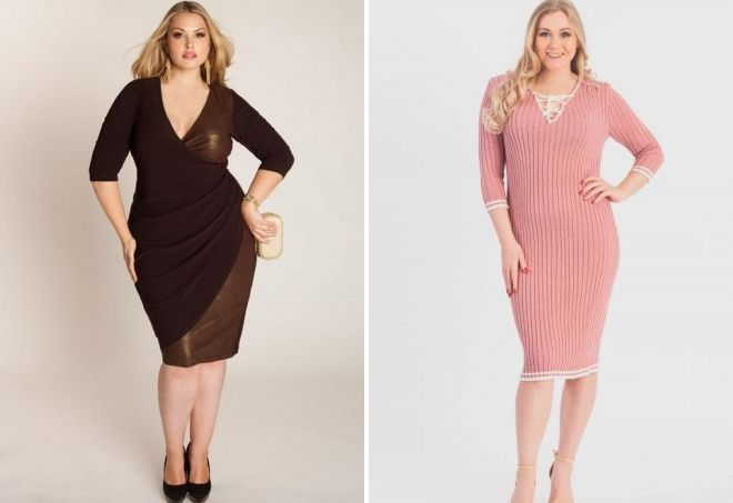 pakaian pakaian rajut untuk wanita gemuk