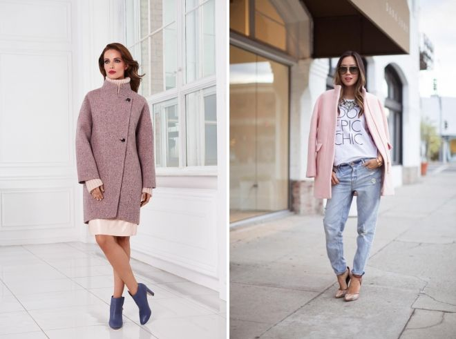 what to wear with a short pink coat