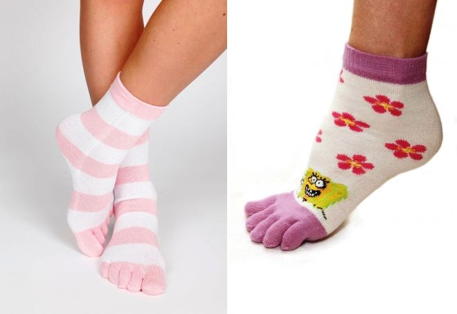 women's socks with fingers