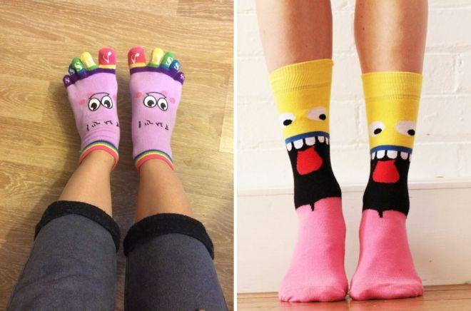 lëschteg Fraen socks