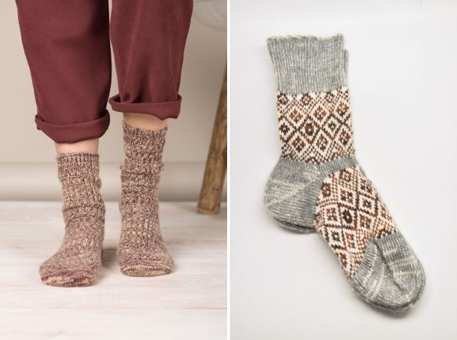 women's thin wool socks