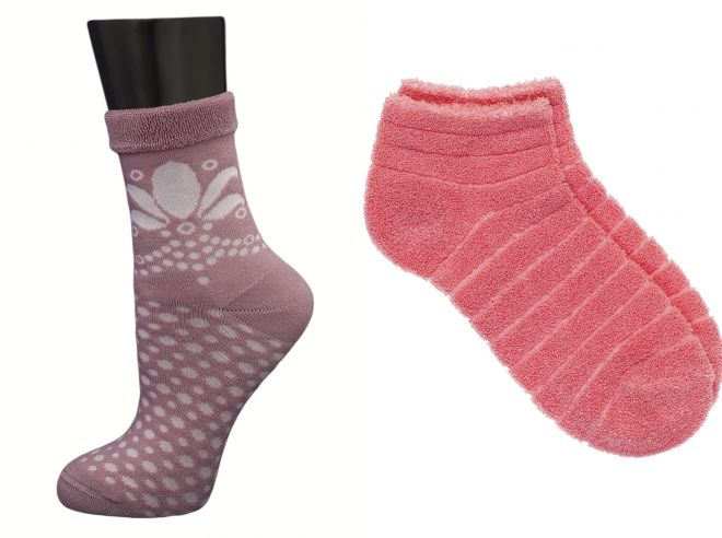 terry women's socks