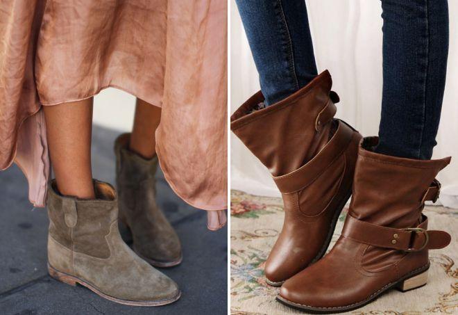 стильные ботинки 2018