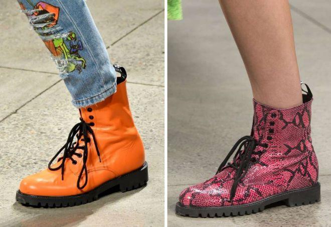 ботинки 2018 года модные тенденции