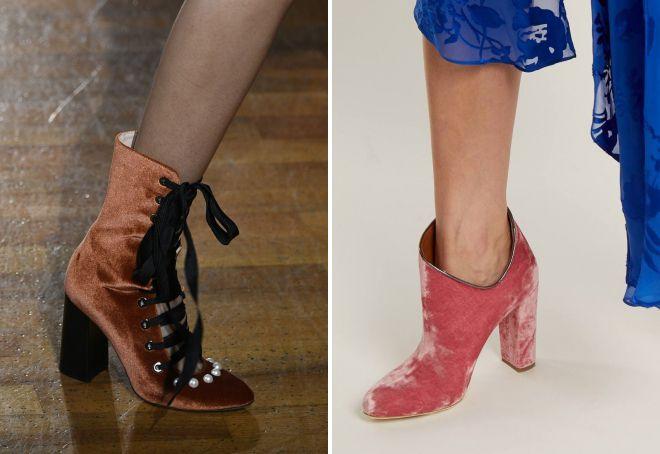 стильные ботинки весна 2018