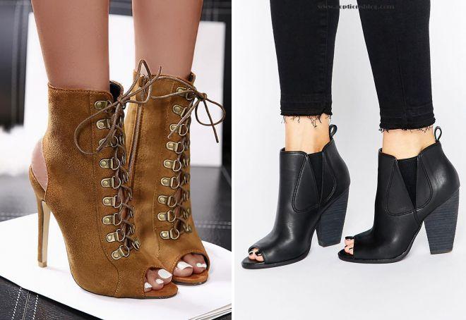какие ботинки в моде весной 2018