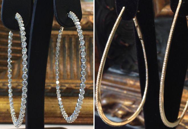 Классические и эксклюзивные серьги с бриллиантами – гвоздики и ... 486147c3909