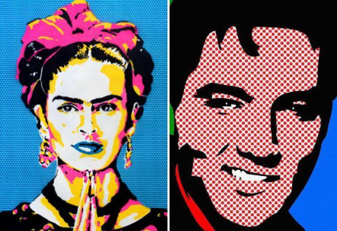 История поп арта портреты знаменитостей