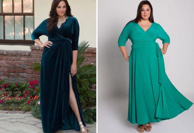 длинное летнее платье с рукавами
