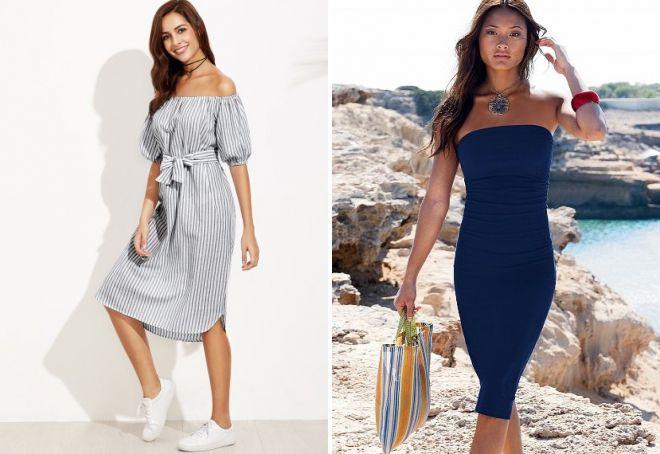 Стильные платья на каждый день 2017 – классические и оригинальные ... 3098a717e47