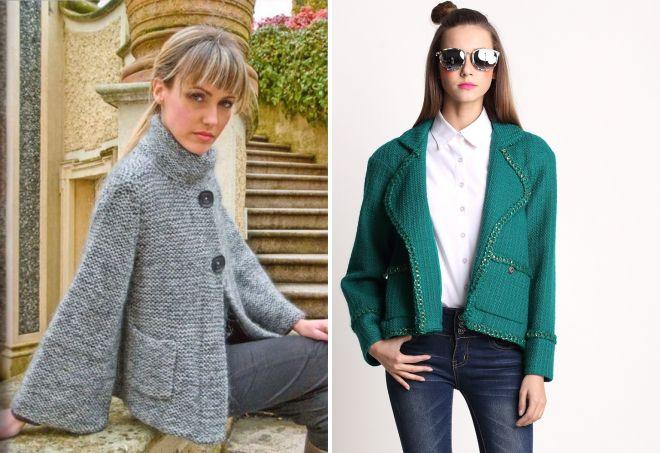 короткое женское пальто пиджак