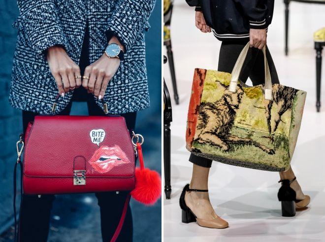 bf6047485eac Модные женские сумки 2018-2019 – маленькие, большие, поясные, хобо ...
